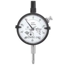 Mitutoyo 2046S Standard Plunger Dial Indicator 10mm Gauge Test Inspection