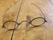 Antique 1700's - 1800's Oval Wire Rim Spectacles Eyeglasses  NO RESERVE