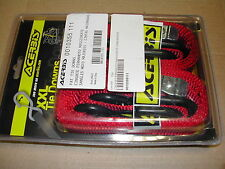 CINGHIE FERMAMOTO MAGGIORATE 35mm - FAT TIE DOWNS RED --- 0010355.111