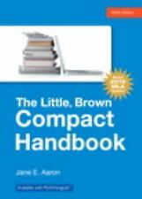 The Little, Brown Compact Handbook, MLA Update Edition by Jane E. Aaron...