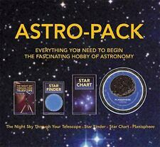 Astro-Pack all you need to know for Astronomy hobby, contains Star Finder, Star