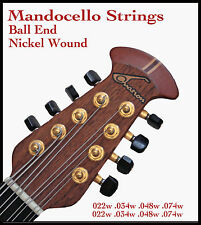 22-74 BALL-END NICKEL WOUND STRINGS - OVATION AND OTHER FIXED BRIDGE MANDOCELLO