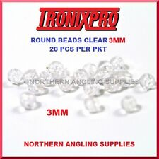 Tronix Pro ROUND BEADS CLEAR 3MM