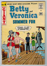 ARCHIE GIANT SERIES #18 4.0 OFF-WHITE TO WHITE PAGES SILVER AGE