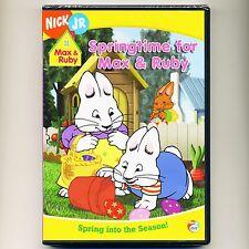 Springtime for Max & Ruby animated TV episodes, mint DVD Nick Jr. PBS 96 minutes