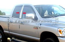 2002-2008 Dodge Ram 1500/03-09 Ram 2500 Quad/Crew Cab 4Pc Chrome Pillar Post