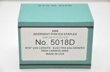 """Duo-Fast 5018D 9/16"""" Div. Point Staple, Galv. 1 case of 16 boxes (Made by Zeb)"""