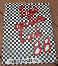 1988 Millennium Columbia High School Take Another Look Yearbook Troutdale, OR