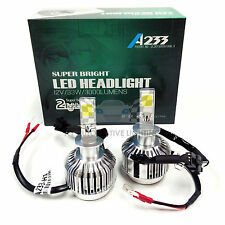 NEW ALL-IN-ONE H1 12V 33W LED Headlight Kit Xenon 6000K Crystal White Bulbs