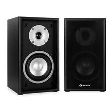 HI-FI HOME CINEMA BOOKSHELF SPEAKER SOUND SYSTEM PAIR 150W MAX STEREO SPEAKERS