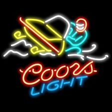 """New Coors Light Snowmobile Beer Pub Bar Neon Sign 20""""x16"""" BE55M ship from USA"""