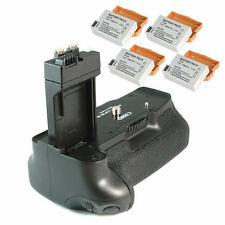 4X LP-E8 Battery GRIP BG-E8 FOR Canon EOS 550D 600D  650D T2i + UK Xmas Sale!!!!