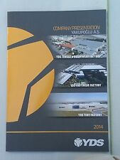 YDS 2014 Company Presentation Booklet Textile Outerwear Footwear Tent Factory
