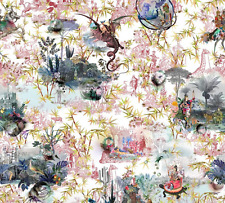 Designers Guild Christian Lacroix cotton fabric Reveries Tomette FCL7008/02