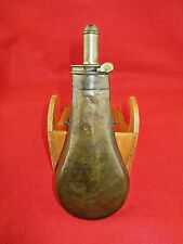 "James Dixon & Sons ""Patent Top"" 'Plain' Powder Flask"