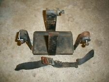 Triumph Battery Tray & Pad 750cc OIF 1973