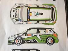 Racing43 DECAL F/ BELKITS SKODA FABIA S2000 EVO F. LOIX IEPER 2013 1/24 NEW