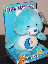 "CARE BEARS ""BEDTIME BEAR"" NIB 8"" BEAN BAG BEAR, 2002"