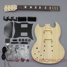 Bargain Musician - GK-014L - LEFT Hand DIY Unfinished Project Luthier Guitar Kit