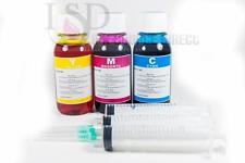 3x4oz Premium Color Refill ink for Canon CL-211 XL MP490 495 MX320