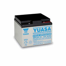 YUASA 27 HOLE  GOLF TROLLEY BATTERY FITS POWAKADDY