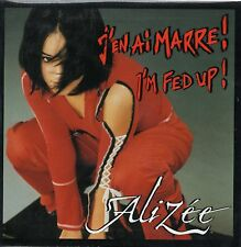 CD single ALIZEE Mylene FARMER I'm fed up - J'en ai marre CARD SLEEVE 2-TR RARE
