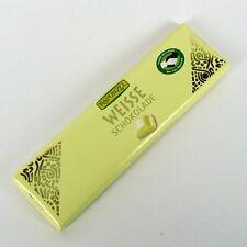 (3,00/100g) 2x Rapunzel Weiße Schokolade Täfelchen bio 20 g