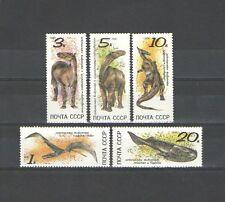 Q50 - RUSSIA - 1990 - SERIE COMPLETA NUOVA - ANIMALI FOSSILI**