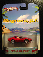 Hot Wheels Retro Entertainment Magnum P I Ferrari 308 GTS QV RED