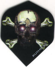 Ruthless Skull & Bones Dart Flights: 3 per set
