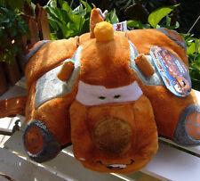 """NEW DISNEY PIXAR Tow Mater Pillow Pets CARS Plush 12"""" Pillow/Toy SOFT!"""