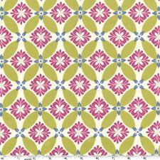 Michael Miller Sandi Henderson Secret Garden Modern Meadow Fabric in Green Tea