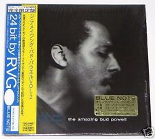 BUD POWELL / The Amazing Bud Powell Vol.2 JAPAN Mini LP BLUE NOTE CD w/OBI