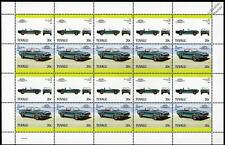1968 SHELBY MUSTANG GT-500 KR Car 20-Stamp Sheet / Auto 100 Leaders of the World