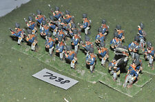 25mm napoleonic prussian infantry 30 figures (7038) metal painted