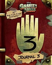 Gravity Falls: Journal 3 2nd edition by Alex Hirsch Hardcover BRAND NEW Free Shi