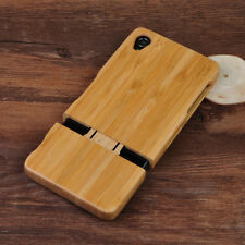 Genuine Natural Real Bamboo Wood Wooden Hard Back Cover Case for Sony Xperia Z3