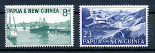 PAPUA & NEW GUINEA 1963 WATERFRONT SG47/48  MNH