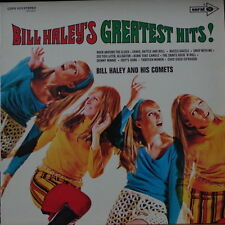 BILL HALEY'S GREATEST HITS ! MINI SKIRT CHEESECAKE 60'S COVER GERMAN PRESS LP