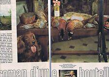 COUPURE DE PRESSE CLIPPING 1961 Roman d'une bouteille d'huile LESIEUR (4 pages)