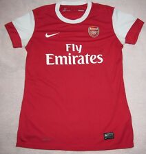 Arsenal Womens 2011 Home Nike Red Jersey S Rare