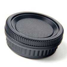 Camera Body + Rear Lens Cap for Pentax K mount PK K20D K10D K200D K100 YG