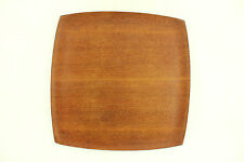 a smart Shigemichi Aomine teak tray for N.C.C. Japanese. Danish style Square ply