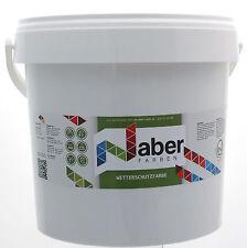 10 Liter - Wetterschutzfarbe - SCHIEFERGRAU -  6,50  €/L