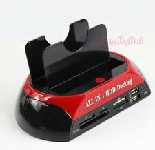 """All In 1 HDD Docking Station USB2.0 OTB OTC For All 2.5"""" 3.5""""IDE/SATA HDD"""