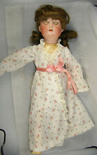 Antique German Bisque Armand Marseille Floradora Doll - Composition Stick Legs