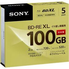 Sony Blu Ray 100 GB BD-RE BDXL 3D Bluray Triple Layer Bluray Printable Discs