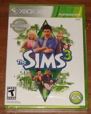 The Sims 3 for Xbox 360 - BRAND NEW & FACTORY SEALED!