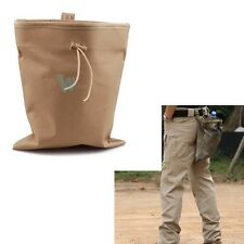 New Big Military Airsoft Molle Tactical Magazine DUMP Drop Tool Pouch Bag Tan