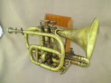 ANTIQUE LYON & HEALY CHICAGO/F JAUBERT & CIE PARIS CORNET